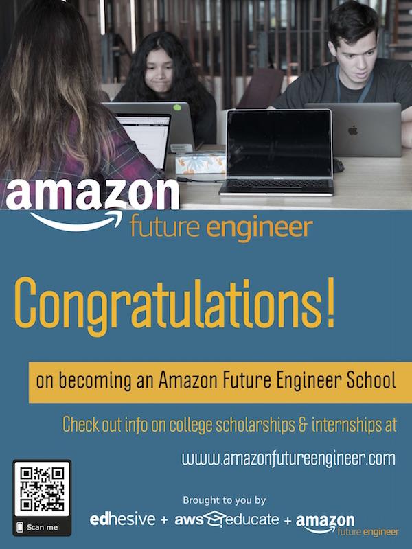 on becoming an Amazon Future Engineer School